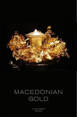 Greek Gold - Macedonian Gold Art Print by Helena Kay