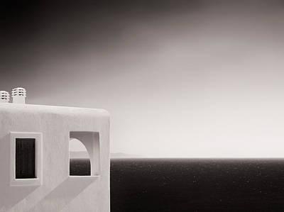 Greece Photograph - Greek Mediterranean Sea - Horizon And Architecture by Alexander Voss