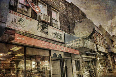 Photograph - Greek Neighborhood - Astoria New York by Joann Vitali