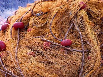 Photograph - Greek Nets by Tamyra Crossley