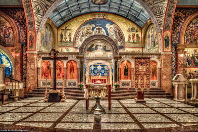 Greek Orthodox Cathedral Of Saint Paul Art Print