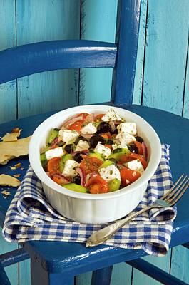 Appetizing Wall Art - Photograph - Greek Salad by Nico Tondini