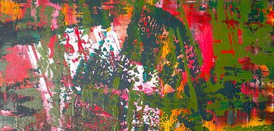 Painting - Green Abstract 1 by Dylan Chambers