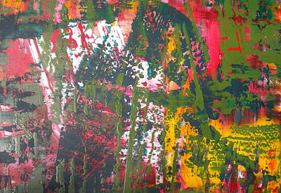 Painting - Green Abstract 2 by Dylan Chambers