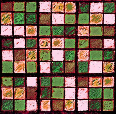 Photograph - Green And Brown Sudoku by Karen Adams