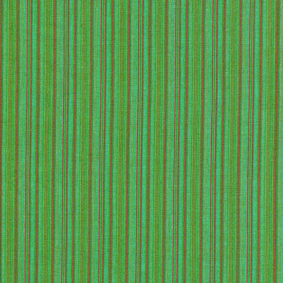 Green And Red Striped Fabric Background Art Print by Keith Webber Jr