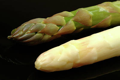 Asparagus Wall Art - Photograph - Green And White Asparagus by Bildagentur-online/th Foto/science Photo Library
