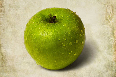 Green Apple - 2 Art Print by Alexander Senin