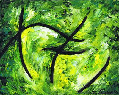 Green Apple Original by Kamil Swiatek