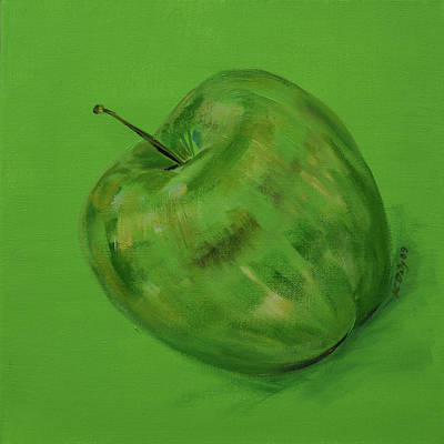 Green Apple Original by Kevin Doty