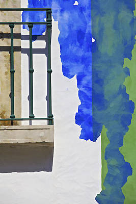 Photograph - Green Balcony Of Obidos by David Letts