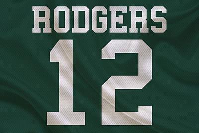 Rogers Photograph - Green Bay Packers Aaron Rogers by Joe Hamilton