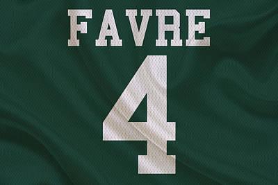 Brett Photograph - Green Bay Packers Brett Favre by Joe Hamilton