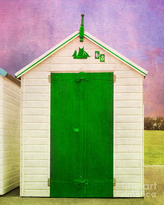 Photograph - Green Beach Hut by Terri Waters