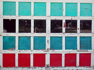 Photograph - Green Blue Red And Me by Kevin Callahan