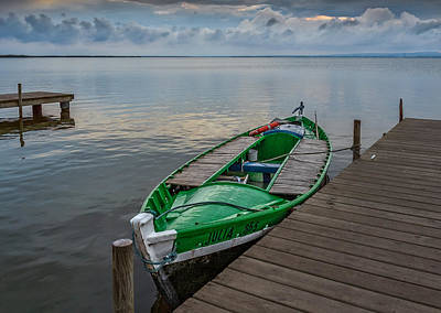 Photograph - Green Boat. by Juan Carlos Ferro Duque
