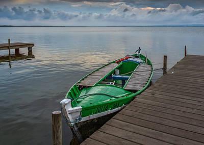 Photograph - Green Boat. by Juan Carlos Ferro Duque