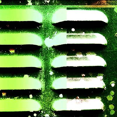 Abstract Wall Art - Photograph - Green Box  by Jason Michael Roust