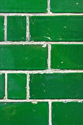 Royalty-Free and Rights-Managed Images - Green bricks by Tom Gowanlock
