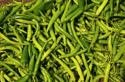 Green Chilies For Sale, Fatehpur Sikri Art Print