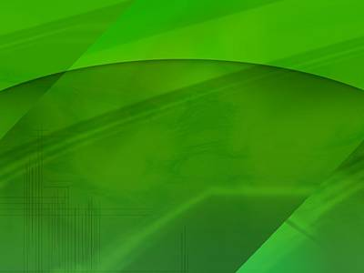 Bright Appearance Photograph - Green Computer Generated Background by Tim Antoniuk