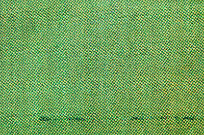 Green Cotton  Art Print by Tom Gowanlock