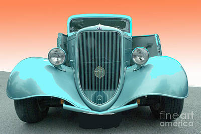 Photograph - Fendered Coupe by Bill Thomson