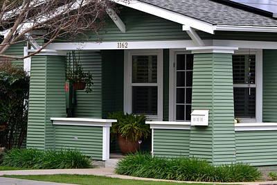 Photograph - Green Craftsman Home by Dean Ferreira
