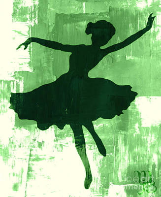 Photograph - Green Dancer by Mindy Bench