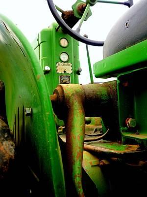 Tractor Photograph - Green Deere by Michael Allen