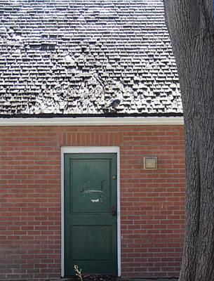 Photograph - Green Door by Bonnie Muir