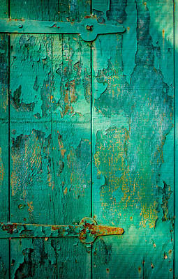 Photograph - Green Door - Carmel By The Sea by David Smith