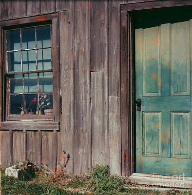 Photograph - Green Door by Vintage Photography
