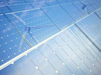 Green Energy Art Print by Andrzej Wojcicki