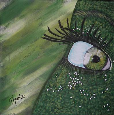Green Envy Art Print by Tammy Rekito