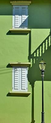 Photograph - Green Facade 2 by Ricardo J Ruiz de Porras
