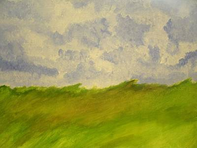 Painting - Green Field by Samantha L
