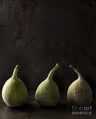 Garden Fruits - Green figs by Julie Woodhouse