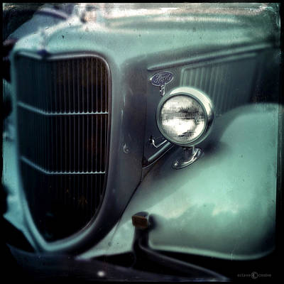Photograph - Green Ford by Tim Nyberg