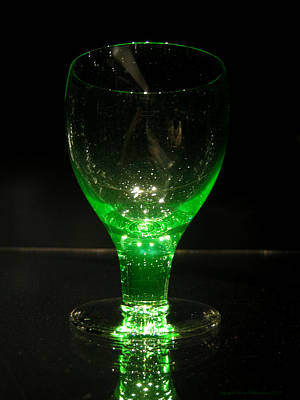 Photograph - Green Glass by Leena Pekkalainen
