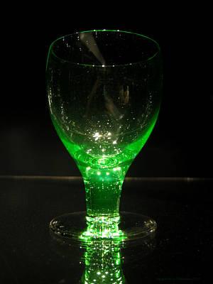 Photograph - Green Glass by Leena Pekkalainen