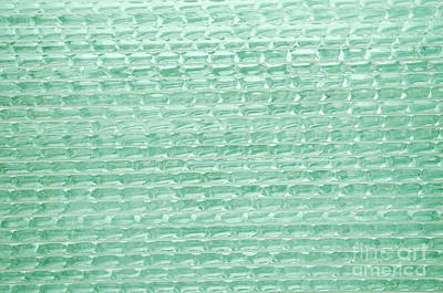 Photograph - Green Glass Pattern Texture by Jacek Malipan