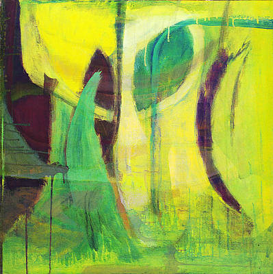 Painting - Green Grass On A Sunny Day by Susan Stone