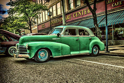 Photograph - Green Hornet by Mary Almond