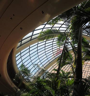 Photograph - Green Interiors Las Vegas Hotels Resorts Casinos by Navin Joshi