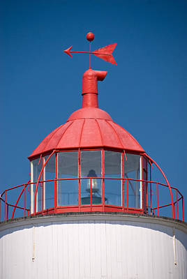 Weathervane Photograph - Green Island Lighthouse by Andrew J. Martinez