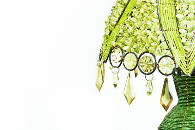 Interior Design Item Photograph - Green Lamp by Tom Gowanlock