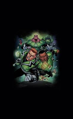 Lantern Digital Art - Green Lantern - Corps #1 by Brand A