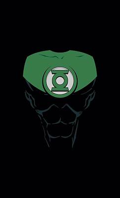 Lantern Digital Art - Green Lantern - Jon Stewart by Brand A
