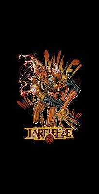 Lantern Digital Art - Green Lantern - Larfleeze by Brand A
